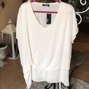 Ana shirt soft ivory XL